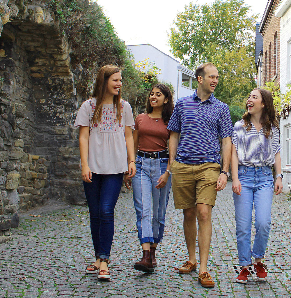 Maastricht Summer School students summer